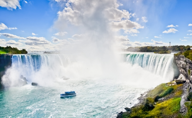 Amazing helicopter rides around the world - Niagara Falls