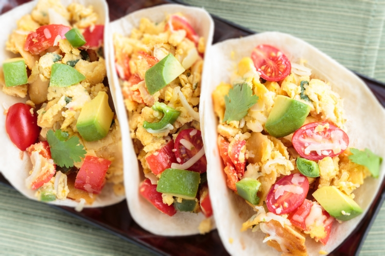 Eat as many breakfast tacos as you possibly can