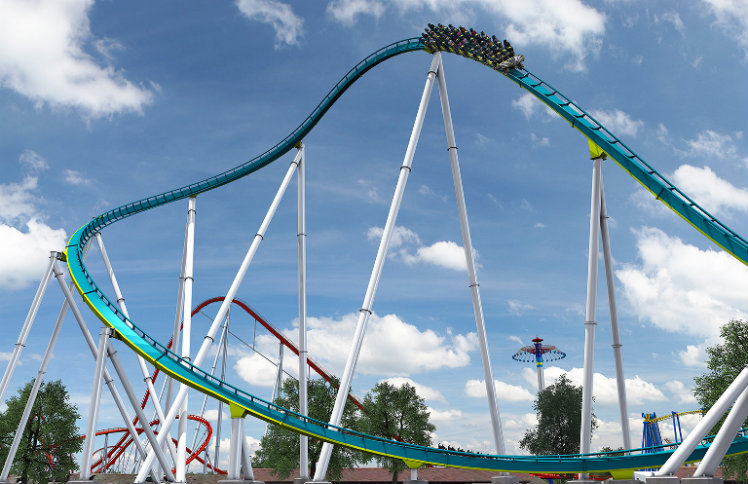 Fury 325, Carowinds, Charlotte, North Carolina