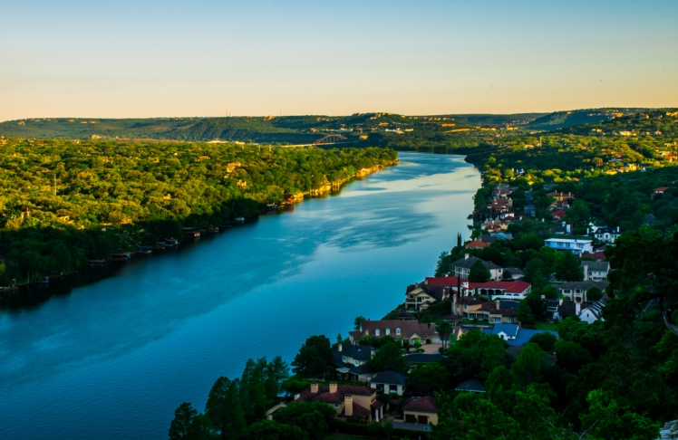 Hike up Mount Bonnell and enjoy the view