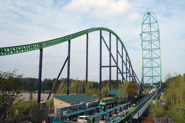 Kingda Ka, Six Flags Great Adventure, Jackson, New Jersey