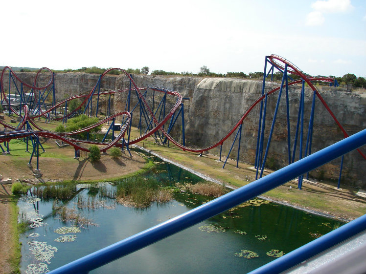 Superman Krypton Coaster, Six Flags Fiesta Texas, San Antonio, Texas