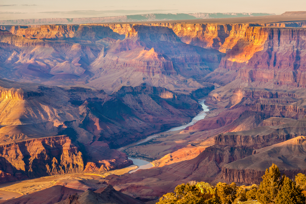 Grand Canyon, USA is one of the most jaw dropping landscapes to trek