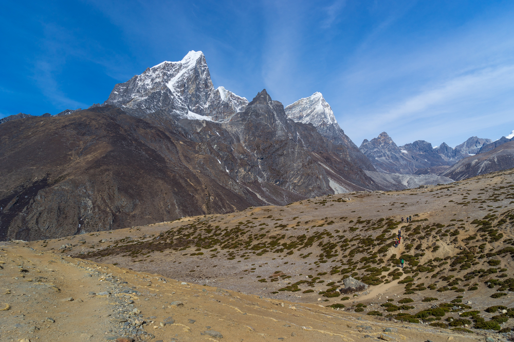 Nepal walking trail