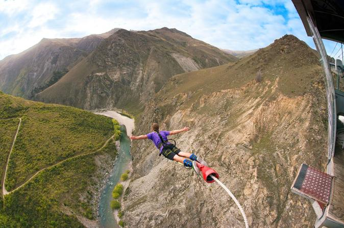Jump the Nevis Bungy, New Zealand