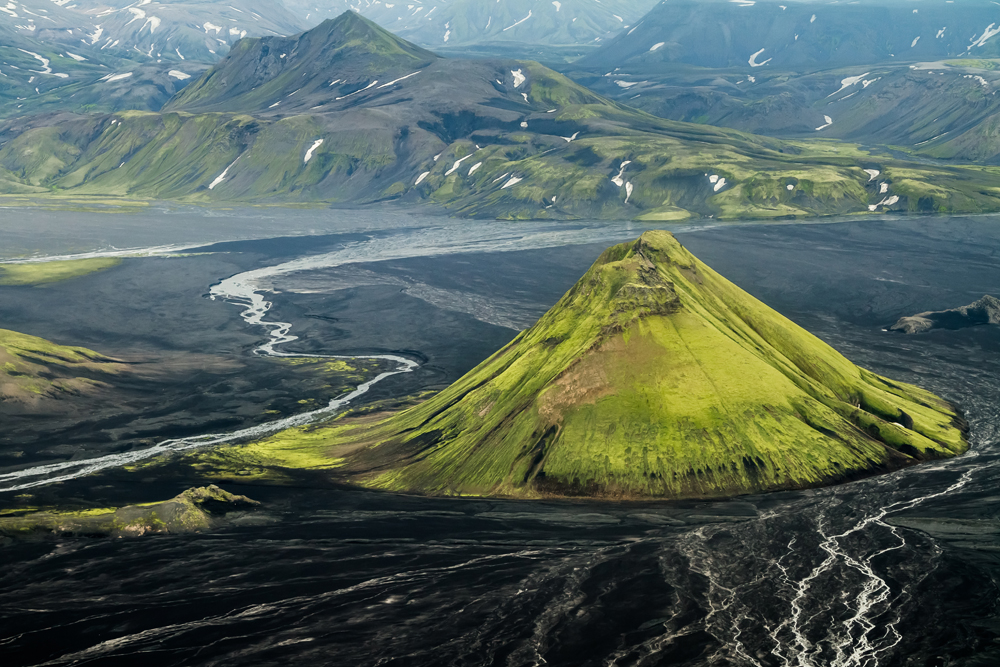 Mt. Maelifell, Iceland