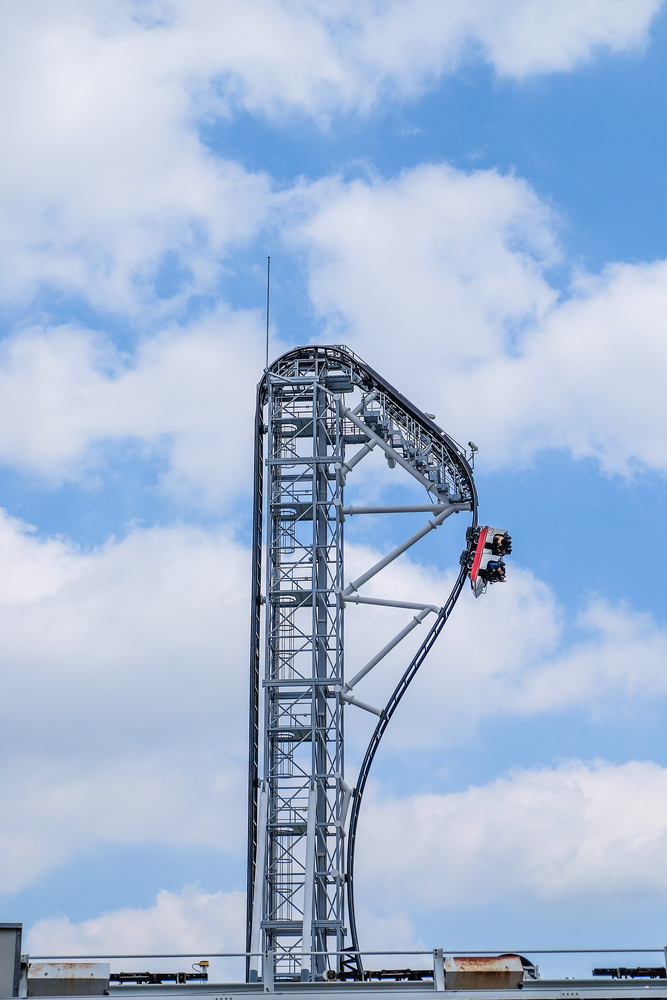Ride the World's Steepest Roller Coaster, Japan