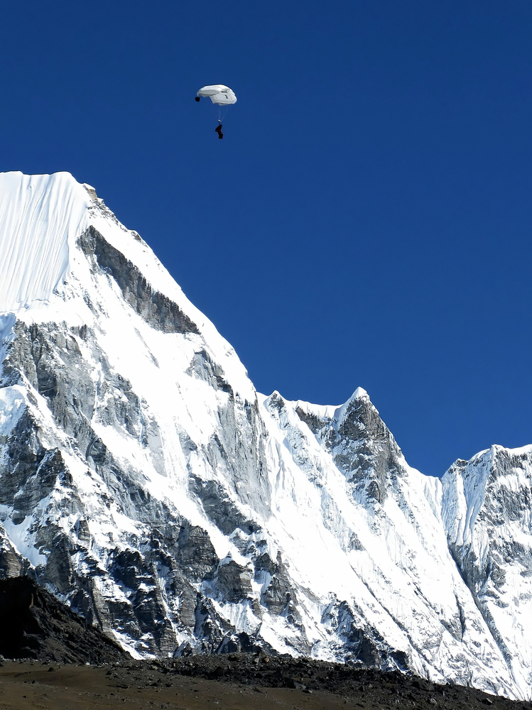 Skydive Past Everest, Nepal