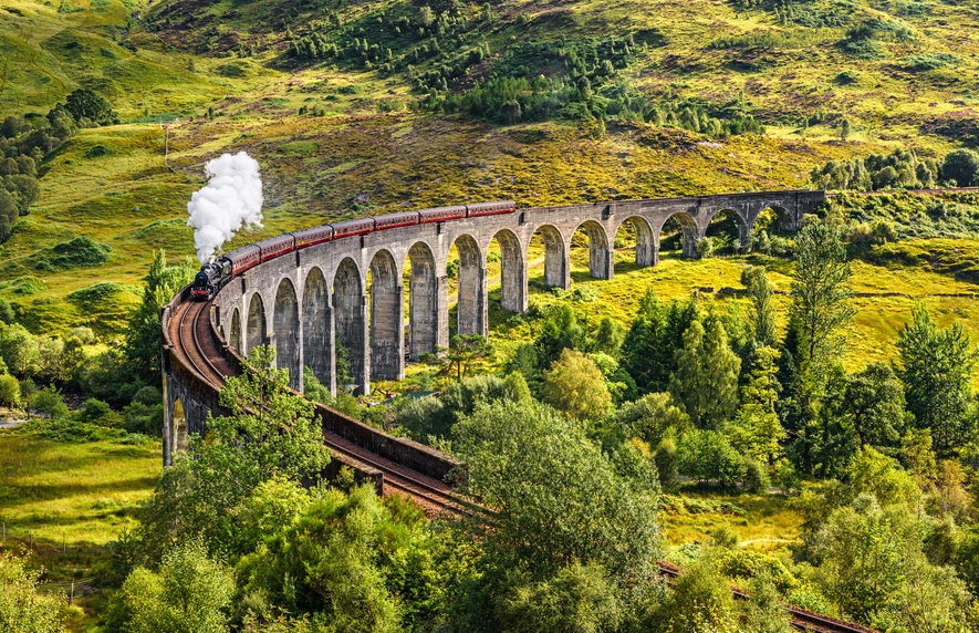 West Highland Line from Glasgow to Mallaig