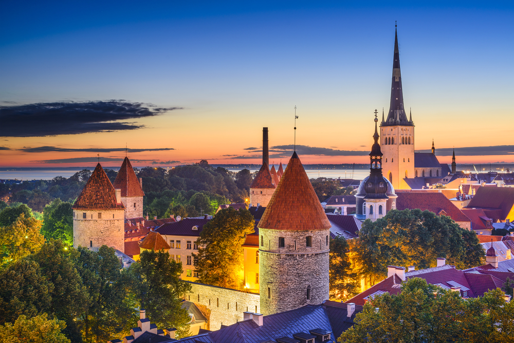 Discover medieval houses and peaceful woodlands in Tallinn, Estonia