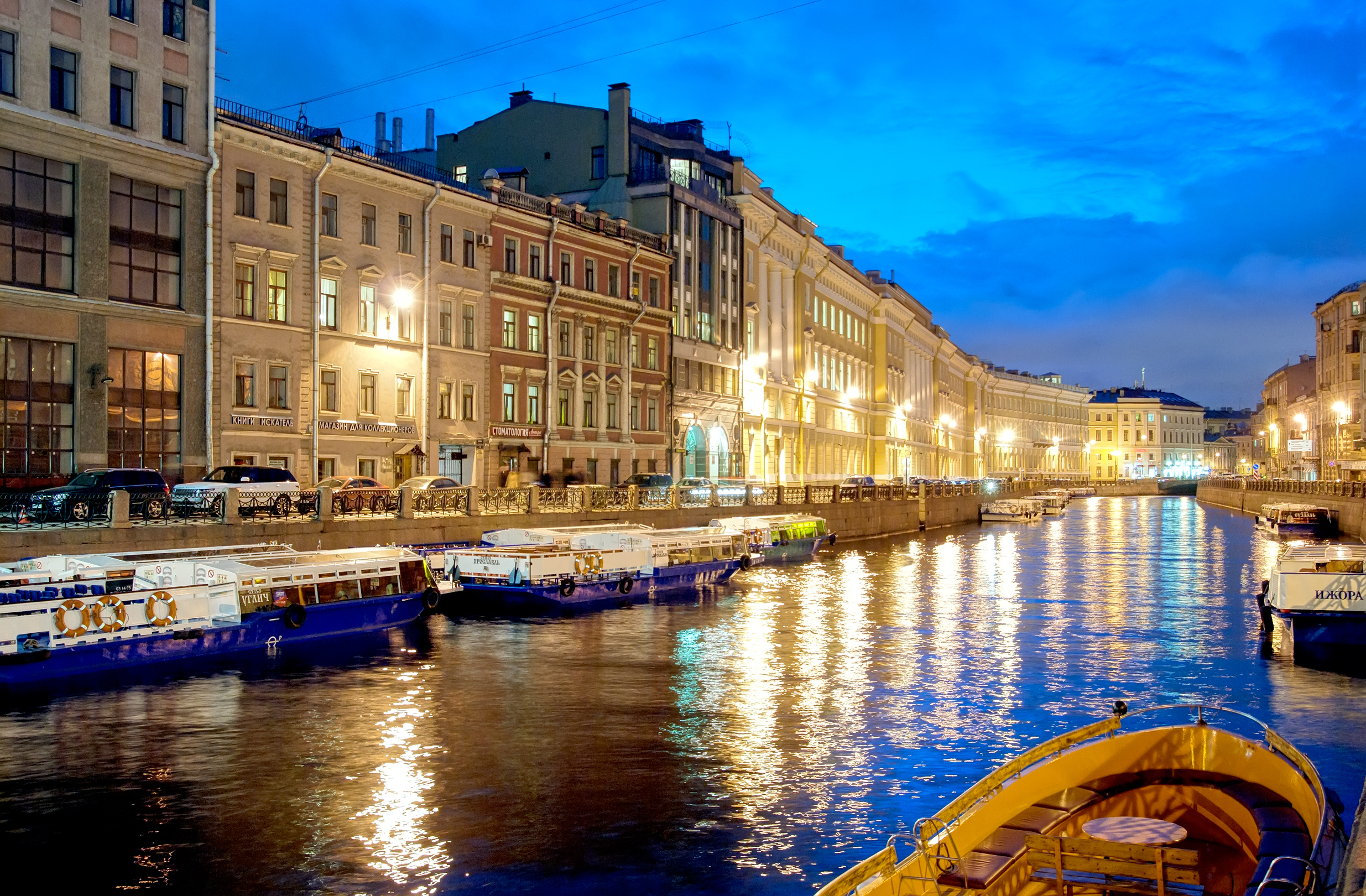 Witness the incredible and historic canal of St Petersburg